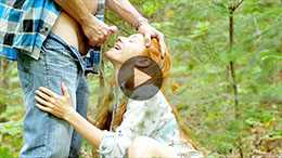 Outdoor Blowjob and Succulent Facial