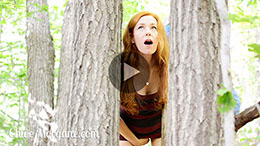 Chloe Morgane in Anal Plug Play in the Woods