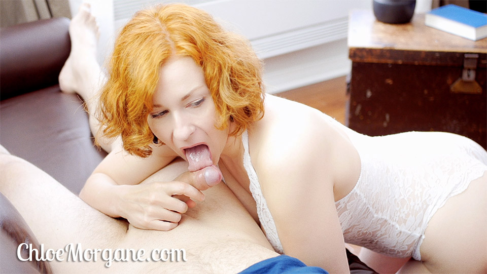 Short Curly Red Hair Blowjob