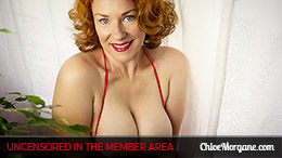 Chloe Morgane in Redhead Beautiful Breasts