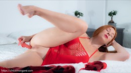 Chloe Morgane in Anal Beads Toy
